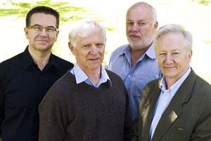Stephen Robertson, Graham White, Shane White & Stephen Garton