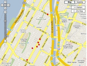 Harlem's basketball venues (Search Events, 'Event type' = Basketball Game)