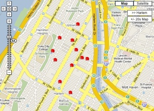 Harlem's Schools (Search for Place, 'Location type' = 'School')