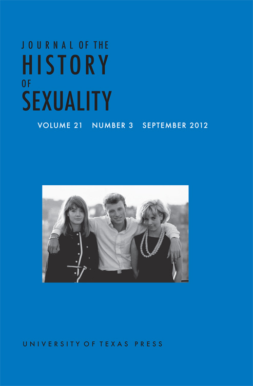 Journal of the history of sexuality