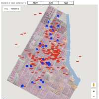 Arrests for Prostitution (red) & Home Nurseries (blue) (January, April, July and October 1930)